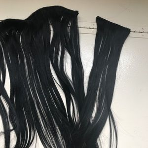 Other - Jet black Bellami hair extensions